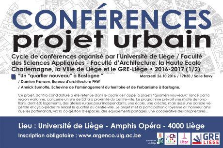 Conférence à l'Université de Liège