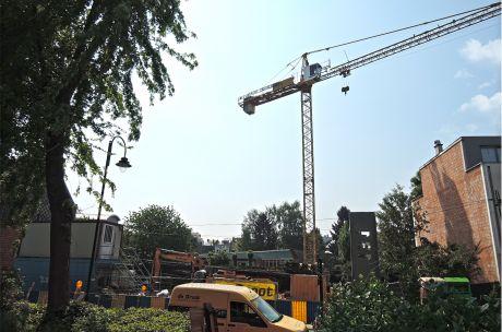 Début de chantier du projet Beyseghem !