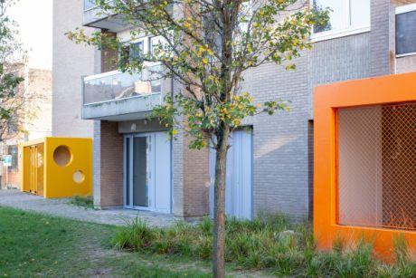 Quelques photos de la crèche les Roses sur le site des contrats de quartiers durables